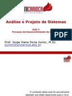 [02] APS - Processo de Desenvolvimento de Software