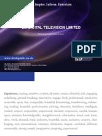 DM Digital TV Network Corporate Brochure