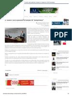 """03-02-18 Promete Castro gabinete al margen de """"amiguismos"""""""