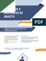 Mercados y Centrales de Abasto..