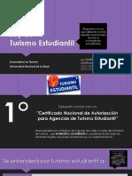 Ley de Turismo Estudiantil