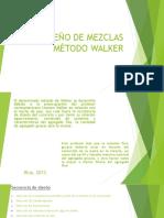 Disñeo de Mezclas-Walker