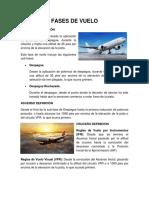 Fases de Vuelo aeronautica