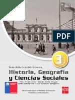Historia - Geografia y Ciencias Sociales 3º Medio - Guía Didáctica Del Docente