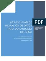 Aa5-2-Plan de Migración de Datos Para San Antonio Del Sena