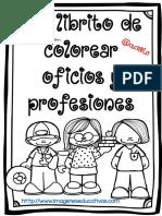 Mi Librito de Colorear Oficios y Profesiones PDF