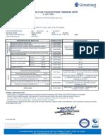 Certificado Hdpe 2 Pulg Sdr11 Globalplast 2017