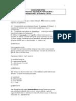 EXERCÍCIOS PORTUGUÊS NASLE 22.09