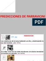 Predicciones de Parravicini