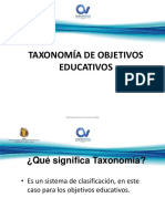 Taxonomia de Objetivos Educativos