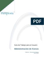 Guía Usuario Administración Cursos