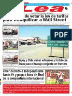 Periódico Lea Viernes 04 de Mayo Del 2018