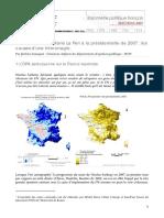 Analyse ÉchecLePen 2007