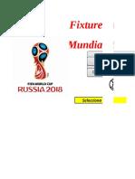 Fixture Mundial Rusia 2018 2