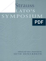 On Plato´s Symposium - Leo Strauss