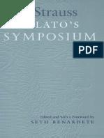 On Plato´s Symposium - Leo Strauss