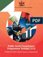 PSIP Trinidad 2018