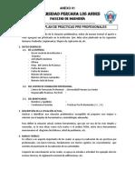 Anexo 01-Ficha Del Plan de Prácticas Pre Profesionales - Con Alcances