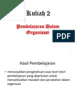 PPP6124 Kuliah 2 Perspektif Pembelajaran