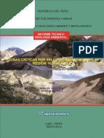 Zonas Criticas Huancavelica 2014
