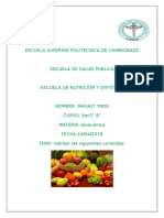 Bioquimica Lactosa