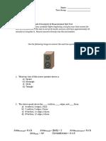 Grade 8 Geometry Test.doc