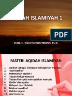 Materi 1 Aqidah Islamiyah