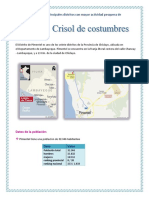 Costumbres de Piimentel
