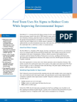 Ford Team Reduce Costs Environmental Impact