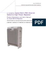 Axell 3921D IP65 Digital Channel High Power Repeater UM 29-APRIL-2011