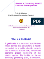 Dr. Wijekoon Grid Code Requirement in Conneting Solar Rooftop