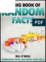 The Big Book of Random Facts - 1000 Interesting Facts and Trivia (Volume-4)