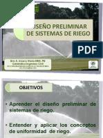 Diseño Preliminar de Sistemas de Riego Marzo 2014