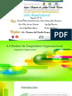 4.4 Modelo de Diagnóstico Organizacional