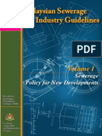 Malaysia Sewerage Industry Guideline Volume 1