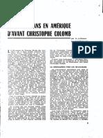 1958 Les Musulmans en Amérique d'Avant Christophe Colomb