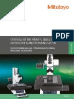 Mitutoyo - Mikroskopy Pomiarowe MF i MF-U - PRE1404 - 2013 EN