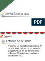 Presentacion TDD Con Codigo