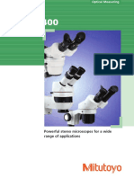 Mitutoyo - Mikroskopy Steroskopowe MSM-400 Seria - 2005 EN
