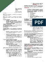 4. Civil Procedures - Finals