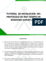 Tutorial de Instalacion de Ntp en Windows Server 2008