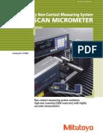 Mitutoyo - Mikrometry Laserowe Laser Scan Micrometer - E13004 - 2016 EN