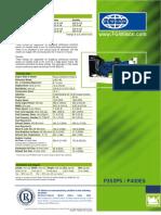 FG Wilson P400E5 Generator Specifications