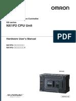 w578 Nx-series Nx1p2 Cpu Unit Hardware Users Manual En