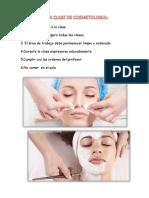 Normas de La Clase de Cosmetologia