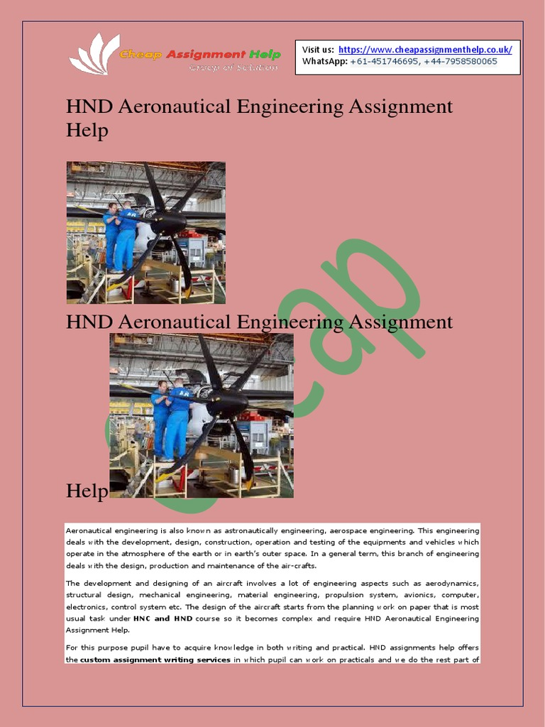 hnd assignments