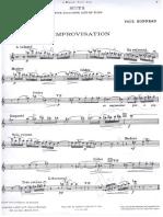 Suite Pour Saxophone Et Piano - Paul Bonneau Sax Part
