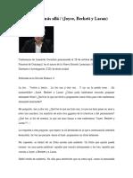 Leonardo Gorostiza - Una letra sin más allá