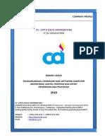 Profile CV CDI 2018-Januari - Baru-revisi