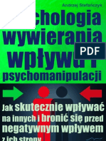 Psychologia wywierania wpływu i psychomanipulacji
